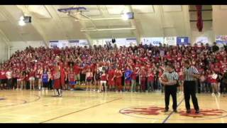 "San Marcos High School Royals - ""The Pride"" Flash Mob - (Feb. 3, 2012)"