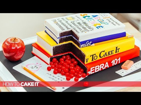 3 AWESOME Back To School CAKES!  Compilation | How To Cake It