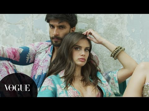 Meet Ranveer Singh and Sara Sampaio on Vogue India's Cover for our 11th Anniversary Issue