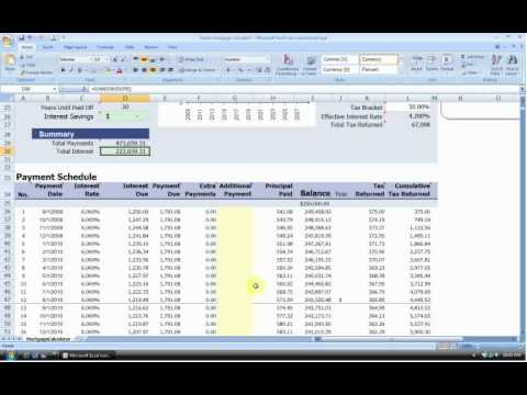 Home Mortgage Calculator - Vertex42