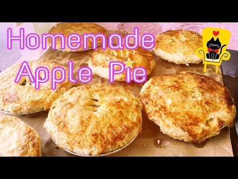 Delicious Pie in Okinawa! Homemade Apple Pies at King Bakery Pastry Shop 沖縄おみやげ(手みやげ)差し入れ キングのアップルパイ