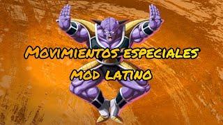 Capitán Ginyu movimientos especiales mod latino
