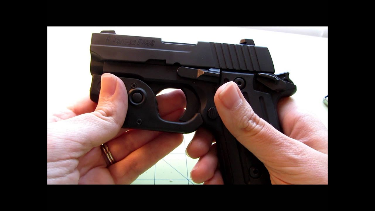 Sig Sauer P238 Review - Great concealed carry pistol - Female ...
