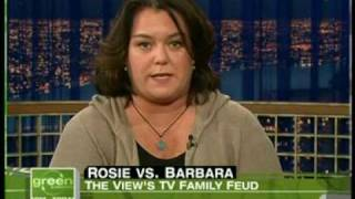 Rosie O'Donnell Barbara Walters The View Family Feud 2008 Elisabeth Hasselbeck
