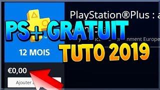 [TUTO FR] AVOIR LE PS+ GRATUIT SUR PS4 (Nouvelle Méthode 2019) Playstation Plus gratuit / Free