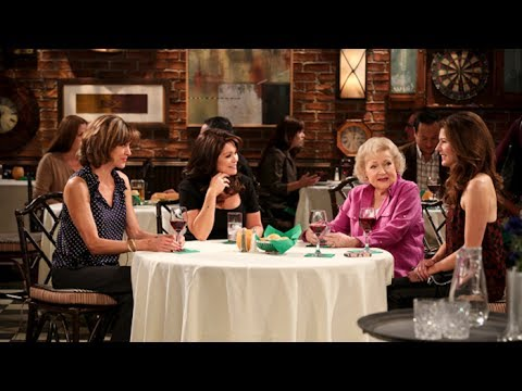 Inside Betty White's Dressing Room: 'Hot In Cleveland' Cast Performs 'The Golden Girls'