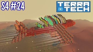Terratech | Ep24 S4 | Moving West - Cargo Plane Built!! | Terratech v1.0 Gameplay