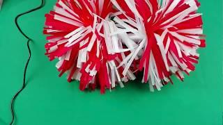 Jak zrobić pompony/ How to make pompoms/ DIY