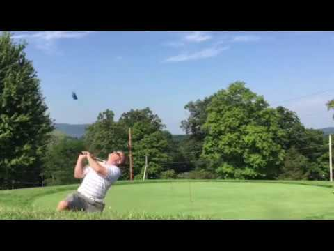 Golf Flop Shot – Over the head backwards