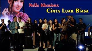 NELLA KHARISMA CINTA LUAR BIASA LIVE IN JOGJA CITY MALL KARAOKE MASSAL