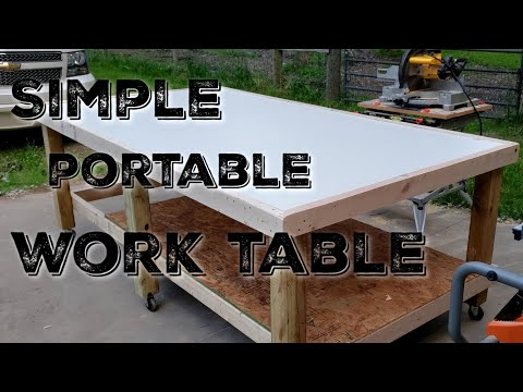 how-to-make-a-simple-portable-work-table