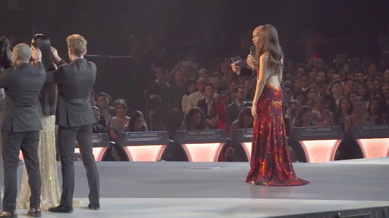 Catriona Gray Miss Universe 2018 Phillipines Final Speech For Going To Winner