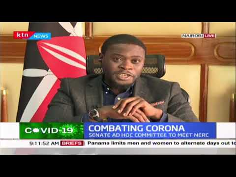 Senator Sakaja: Ultimately we expect Coronavirus relief legislation passed by both houses