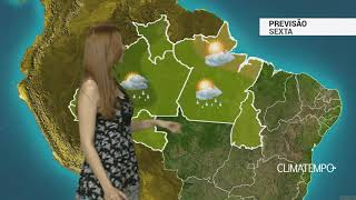 Previsão Norte – Sexta-feira quente e úmida