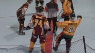 2013 InLine Hockey Nationals Senior Men RR: Queensland v Tasmania
