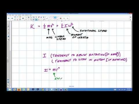Physics: Rotational Inertia and Angular Speed