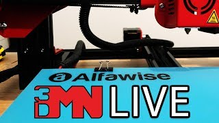 The $299 Alfawise U20 Large Format 3D Printer - Live Assembly and Test