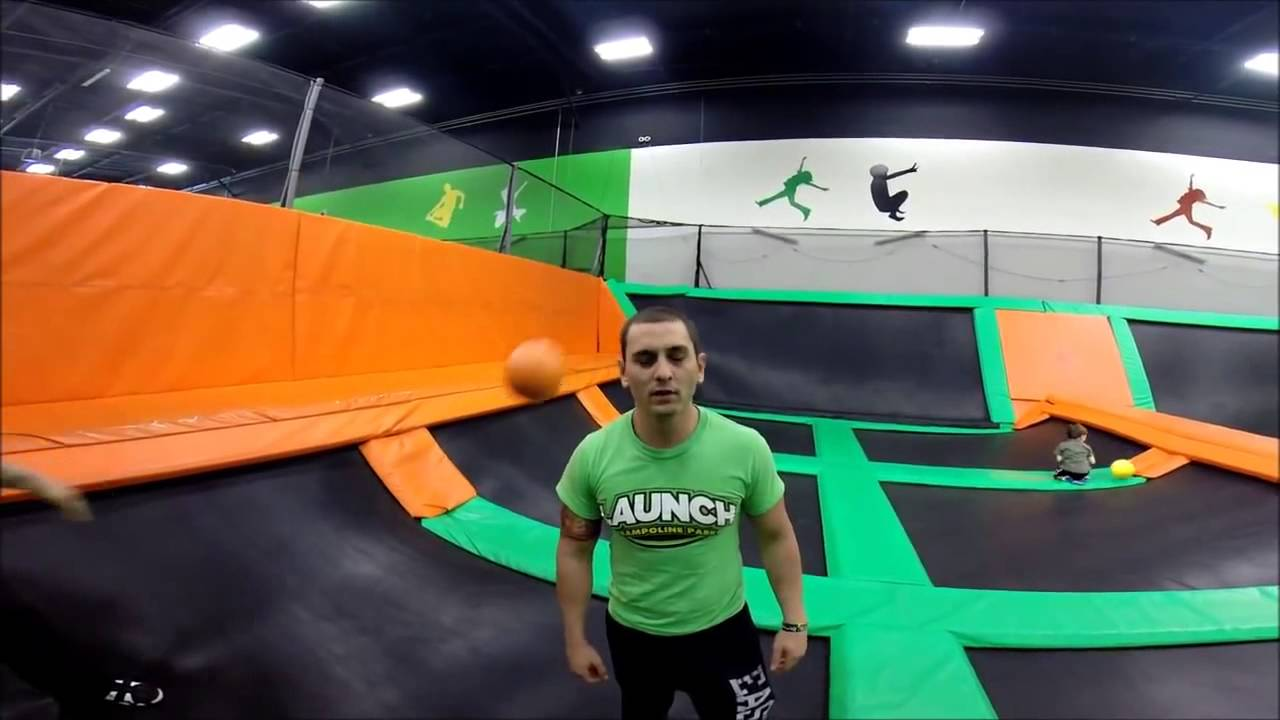 Launch Trampoline Park Xtreme Dodgeball - YouTube
