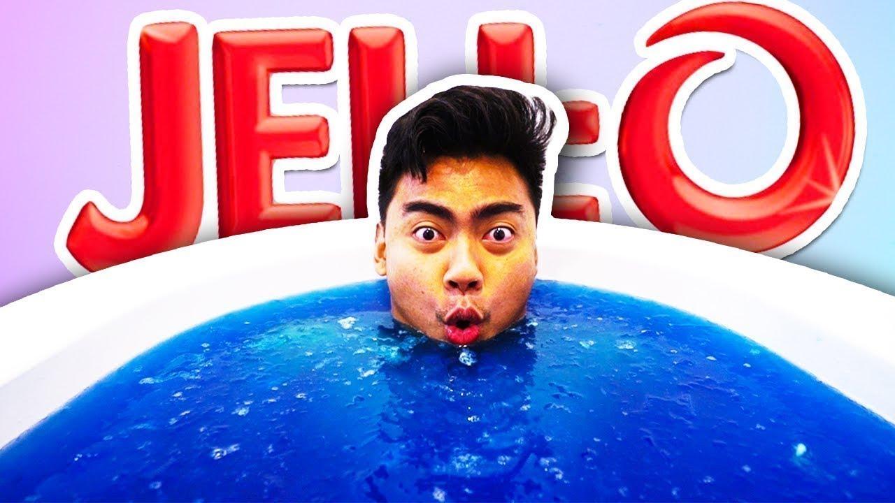 bc39cc3ce63 JELLO BATH CHALLENGE! - YouTube