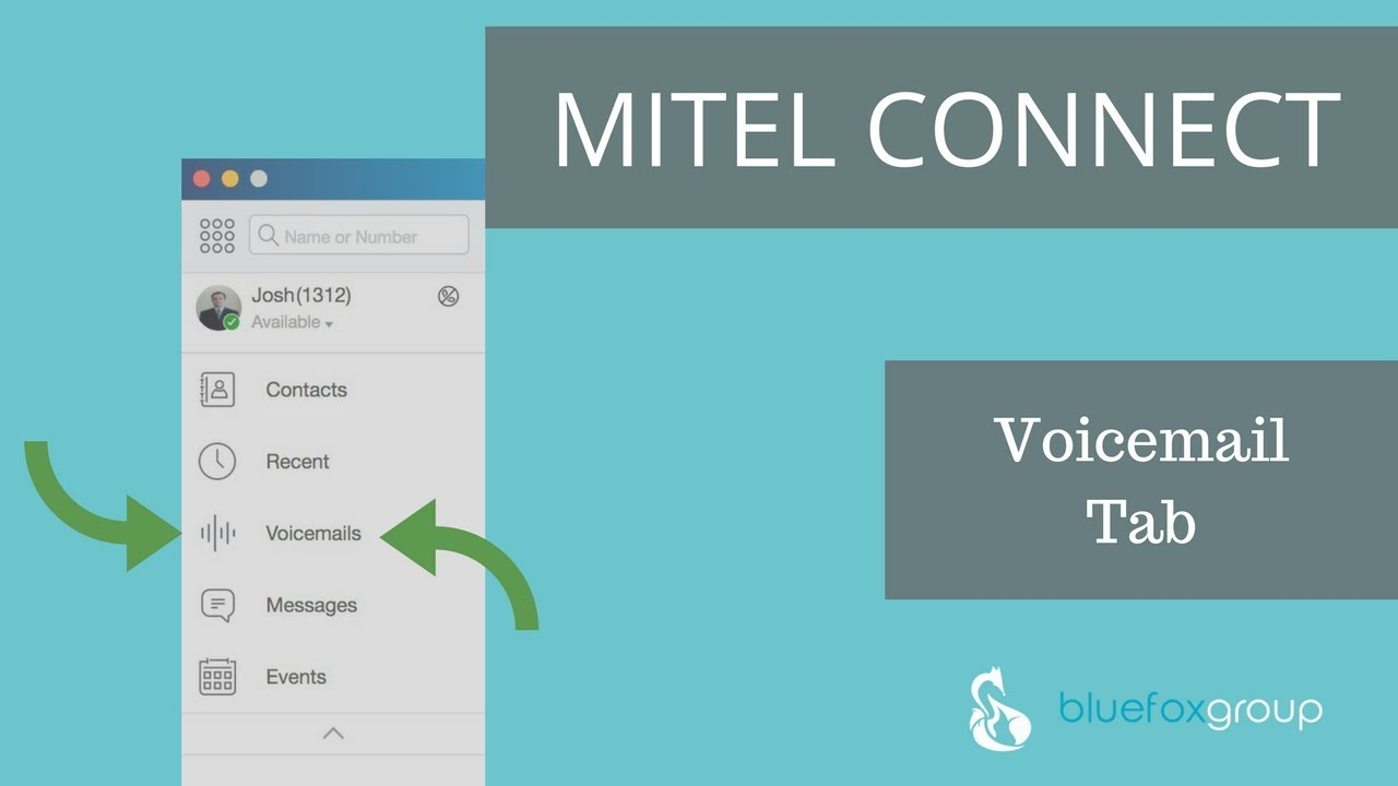 How To Use The ShoreTel Mitel Connect Client Voicemail Tab