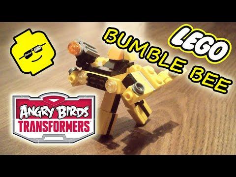 Трансформеры Angry Birds Bumblebee самоделка лего