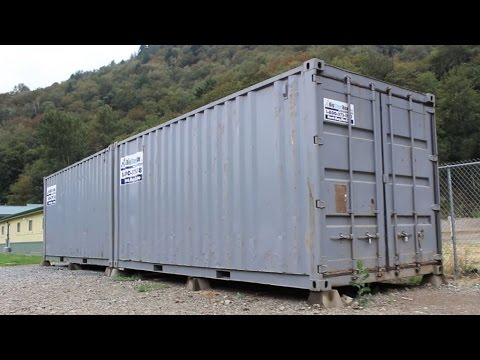 are shipping containers bulletproof here 39 s your answer youtube. Black Bedroom Furniture Sets. Home Design Ideas