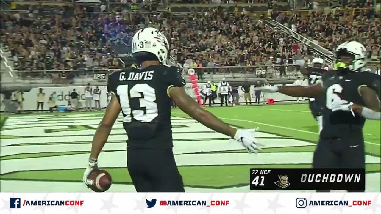 2019 Football Highlights - UConn at UCF - YouTube