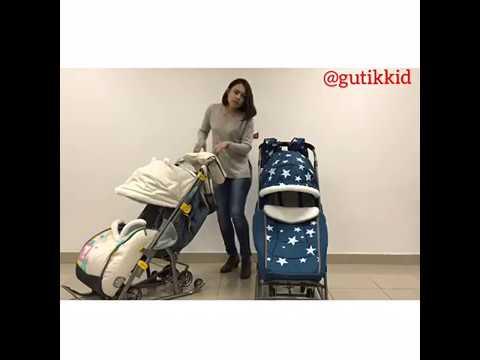 Сравнение моделей санки-коляски Pikate и Ника