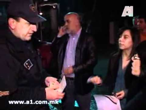 Macedonia Television A1 Under Police Oppression (Censorship)