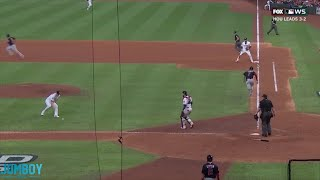Trea Turner called out on interference, a breakdown