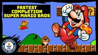 Kosmic: Fastest warpless completion of Super Mario Bros - Guinness World Records