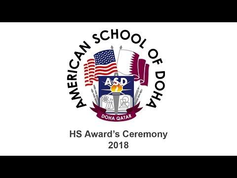 HS Award's Ceremony 2018