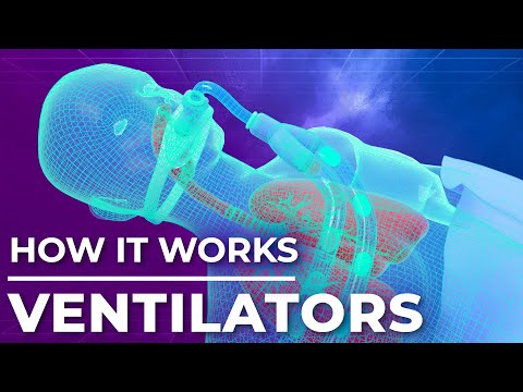 How ventilators work? Mechanical Ventilation Explained