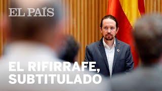 La BRONCA entre IGLESIAS y ESPINOSA DE LOS MONTEROS, subtitulada