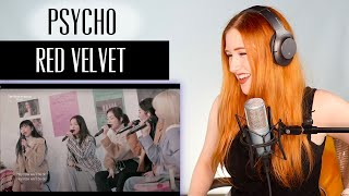 Download lagu VOICE COACH REACTS | Red Velvet... PSYCHO. Guys... they have a snow fairy.