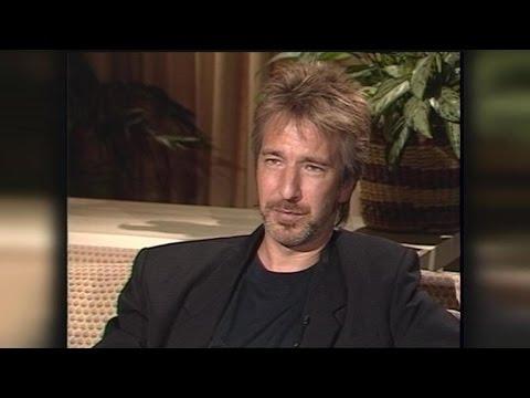 FLASHBACK: Alan Rickman on His Big Break in 'Die Hard' in 1988