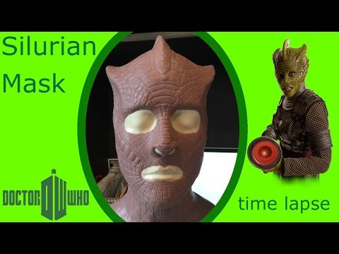 Doctor Who Silurian Mask Sculpt From Doctor Who