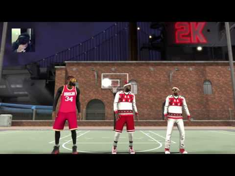NBA 2K17 MyPARK Livestream - Snatching Ankles & Contact Dunk