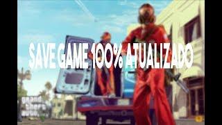 GTA V PC - SAVE GAME 100% ATUALIZADO - TUDO LIBERADO !!!