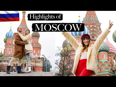 Highlights Of Moscow! | Russia Travel Vlog