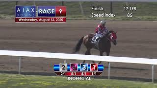 Ajax Downs August 12, 2020 Race 9