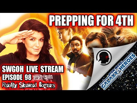SWGOH Live Stream Episode 98: Prepping for 4th | Star Wars: Galaxy of Heroes #swgoh