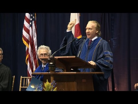 Bill Maher @ Berkeley 2014 Winter Commencement