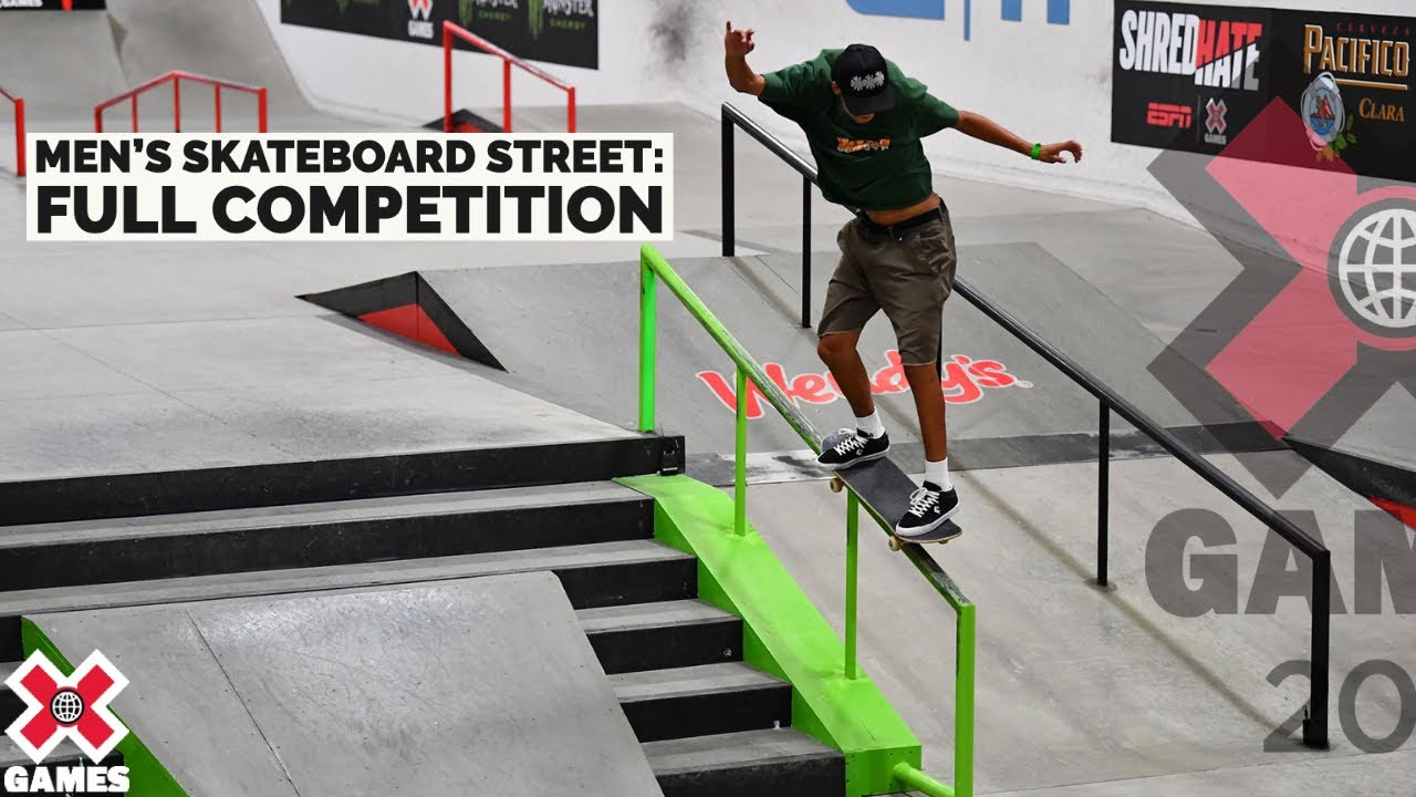 Download Men's Skateboard Street: FULL COMPETITION   X Games 2021