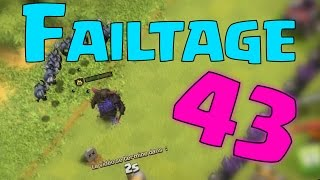 Clash Of Clans - FAILTAGE 43 FUNNY MOMENTS! (Return of the Failtage!)