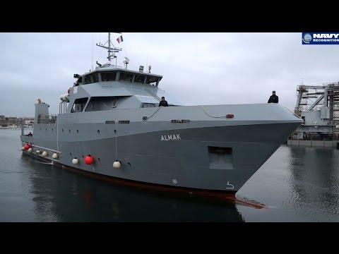 Piriou shipyard visit: Almak training ship (DCI) and B2M multi-mission ship (Kership)