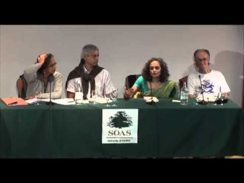 Disappearing World Forum Q&A Session with Arundhati Roy, held at the Brunei Gallery, SOAS