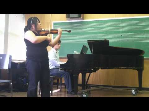 Masterclass with Dr. Brenner- Malaguena by Sarasate