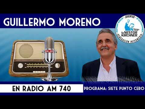 Guillermo Moreno en AM 740 Radio Rebelde 07/12/17