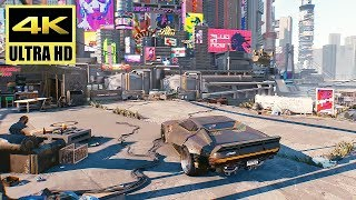 [4K] CYBERPUNK 2077 - Gameplay Reveal Demo @ UHD ✔